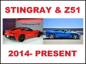 CORVETTE C7 STINGRAY and Z51 2014-PRESENT