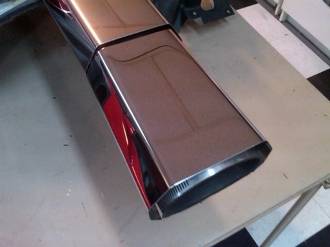 Corvette C4 1985-1989 L98 AIR DUCT COVER