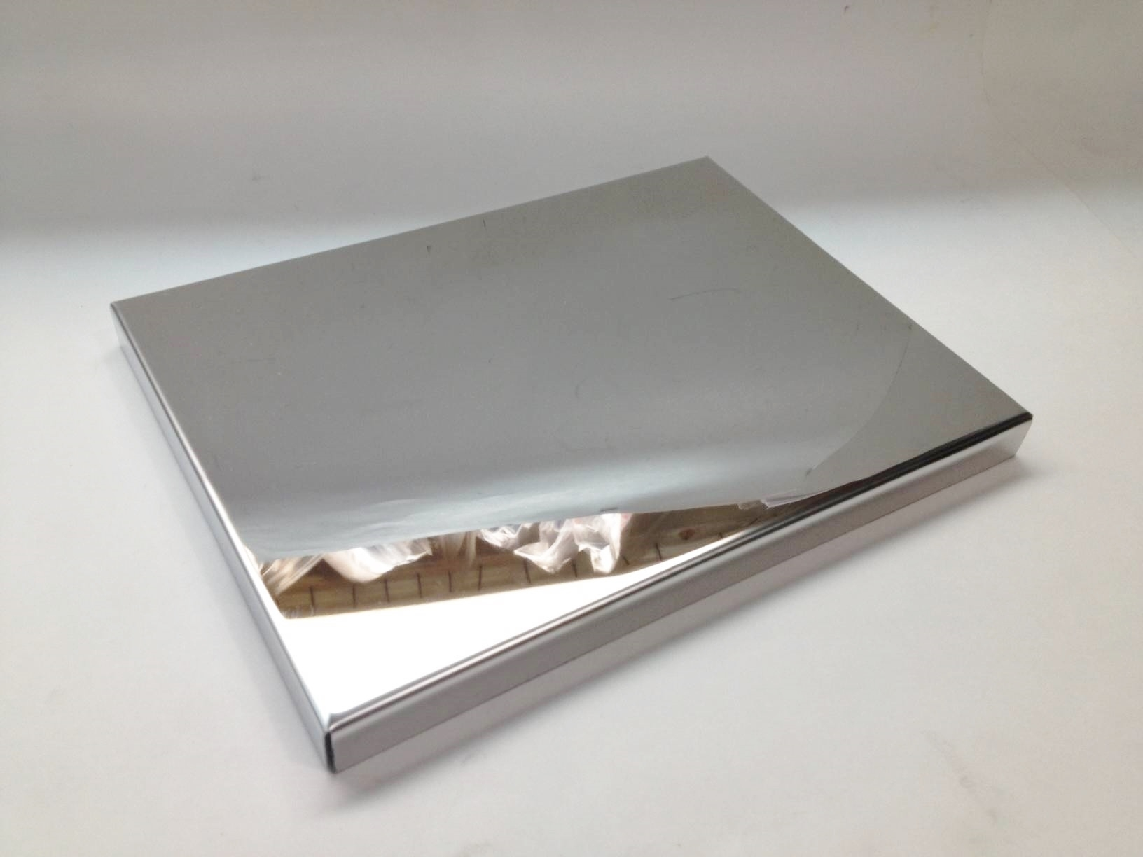 Corvette C7 2014 2015 Polished Stainless Fuse Cover Small Chrome Box